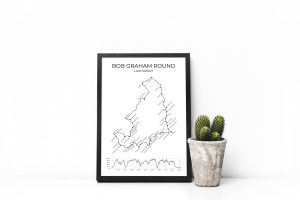 Bob Graham Round art print in a picture frame