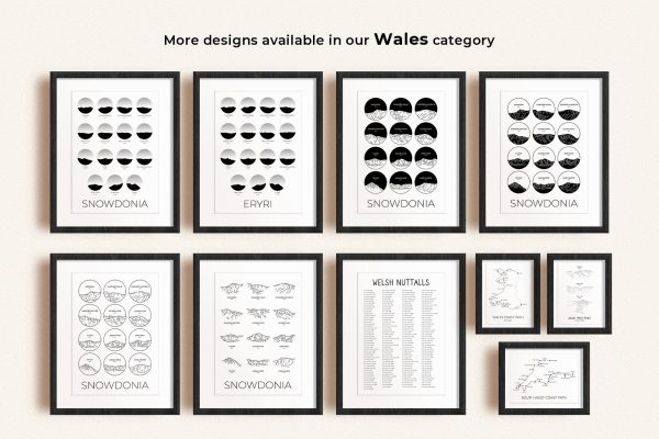 Wales art prints in picture frames